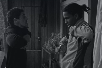 "A$AP Rocky Feat. A$AP Nast & Skepta ""Money Man / Put That On My Set"" Video"