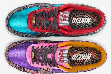 "Detailed Look At The Limited Edition ""Craig Sager"" Nike Air Force 1s"