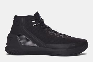 """Stephen Curry's """"Black Friday"""" Under Armour Curry 3 Revealed"""