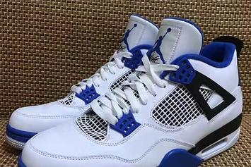 "2017 ""Motorsports"" Air Jordan 4 First Look"