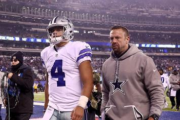 Dallas Cowboys Won't Be Benching Dak Prescott In Favor Of Tony Romo