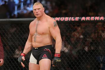 Brock Lesnar Fined $250,000 And Suspended From UFC For One Year
