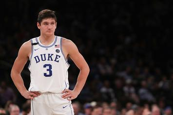 Duke Suspends Grayson Allen Indefinitely For Tripping An Opposing Player Again