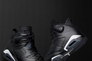 """The """"Black Cat"""" Air Jordan 6 Comes Complete With 3M Detailing"""