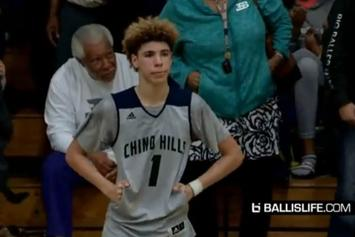 Watch High School Phenom LaMelo Ball Drop 92 Points In A Game
