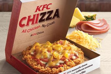"""Say Hello To The """"Chizza,"""" KFC's Chicken-Pizza Monstrosity"""