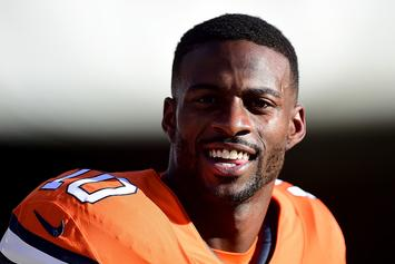 Emmanuel Sanders' Wife Accuses Him Of Lying To Broncos, Skipping Practice To Party