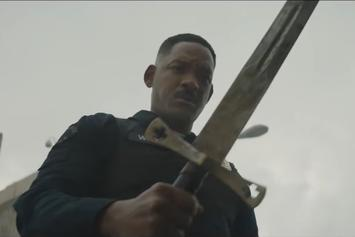 "Watch The Trailer For ""Bright,"" The Netflix Movie Starring Will Smith"