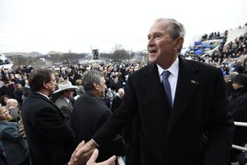 "George W. Bush Rejects Trump Branding The Media As ""The Enemy Of The People"""