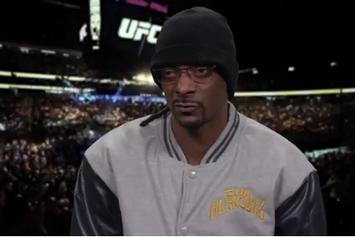 Snoop Dogg Gives Hilarious Commentary On These UFC Knockouts