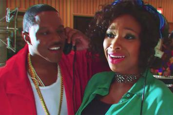 "Jennifer Hudson & Mase ""Mr DJ"" Video (Starring Adam Sandler)"