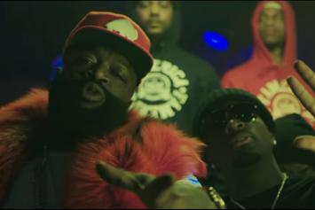 "Rick Ross Feat. Gucci Mane ""She On My Dick"" Video"