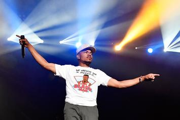 Chance The Rapper Spends Day Off With His Daughter Kensli