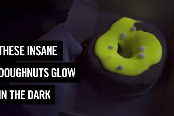 Yup, Glow In The Dark Doughnuts Are Real