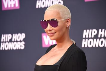 "Amber Rose Compared To ""Rapper Hoe"" By British Columnist"