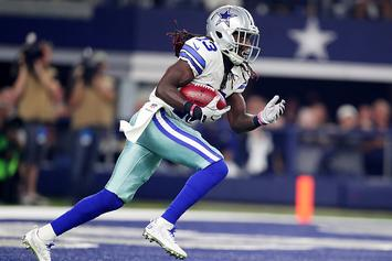 Cowboys' WR Lucky Whitehead Reunited With His Stolen Dog