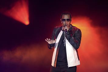Diddy Shows Off Notorious B.I.G Artwork In New Video