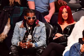 """Migos Brought Out Cardi B To Perform """"Bodak Yellow"""" In Toronto"""