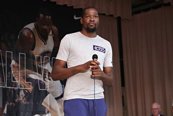 """Kevin Durant On Donald Trump: """"We Don't F*ck With Him"""""""