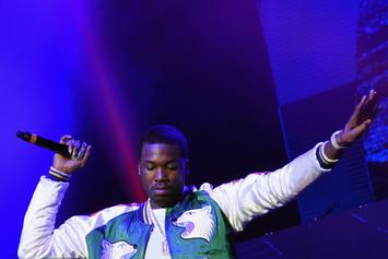 "Watch Meek Mill Perform ""Dreams & Nightmares"" Alongside 50 Cent In Las Vegas"
