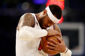 """Carmelo Anthony Has """"Mentally Moved On To Houston"""": Report"""