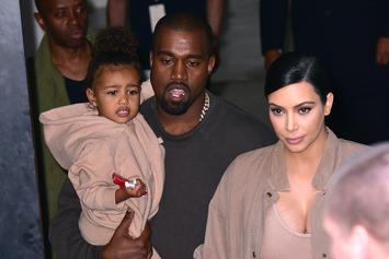 North West Uses Kanye West's Approach When Dealing With Paparazzi