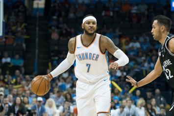 "Carmelo Anthony Denies Jordan Brand Rumors: ""Fake News"""