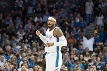 Carmelo Anthony Puts Knicks On Notice Ahead Of His Thunder Debut