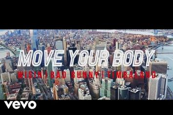 """Timbaland Assists Wisin & Bad Bunny on """"Move Your Body"""""""
