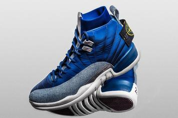 "Sneaker Customizer Unveils Drake's 1-Of-1 ""Stone Island"" Air Jordan 12"