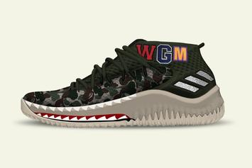 BAPE x Adidas Dame 4 To Release For NBA All-Star Weekend