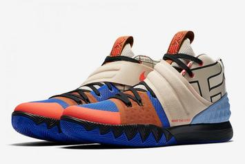 A Kyrie Irving Hybrid Sneaker Is In The Works: First Look