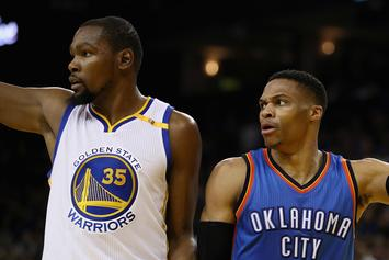 """Kevin Durant Says Confrontation With Russell Westbrook Was """"Not Real"""""""