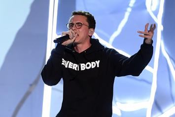 "Logic Explains Why He Was Nervous To Drop ""1-800-273-8255"" Video"