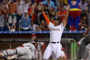 Giancarlo Stanton Could Soon Be Traded To The Giants Or The Cardinals