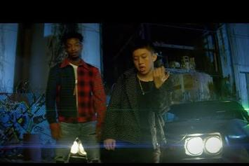 "Rich Chigga & 21 Savage Drop Off ""Crisis"" Video"