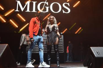 "Migos, Cardi B, & Nicki Minaj's ""MotorSport"" Video Debuts On Apple Music"