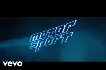 "Migos, Cardi B, & Nicki Minaj Unite For ""MotorSport"" Video"