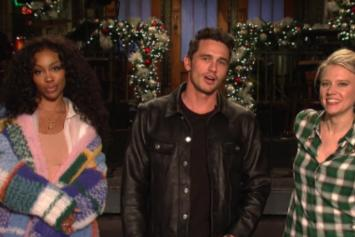 "SZA Teams Up With James Franco & Kate McKinnon For ""SNL"" Promo"
