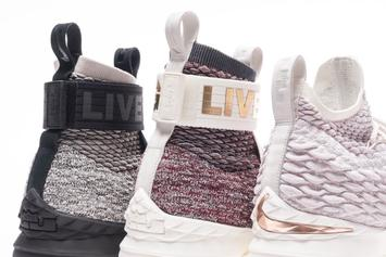 "KITH Teases ""Long Live The King"" Nike LeBron 15 Collabs"