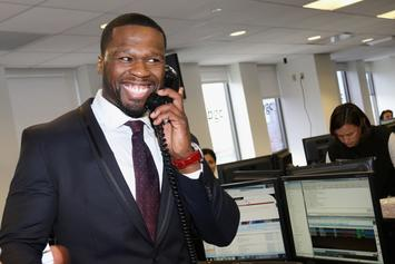 "50 Cent ""Squashes Beef"" With Son, Sire, Takes Him On Helicopter Ride"