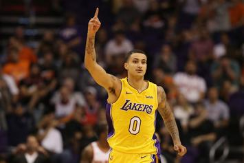 Lakers Snap Rockets' Win Streak Behind Kyle Kuzma's Career-High