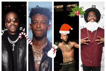 We Asked 21 Savage, Tory Lanez, 2 Chainz & More About Christmas & New Year's Eve