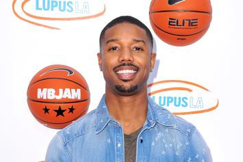 "Michael B Jordan Reportedly Dating A Non-Black Woman Stirs ""Black Panther"" Boycott"
