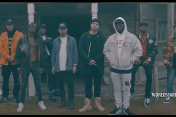 """Dizzy Wright, Audio Push, Demrick & More Team Up In """"What Means The World"""" Video"""
