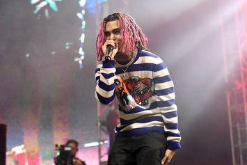 """Lil Pump Spotted Playing """"Lean Pong"""" After Quitting Xans"""