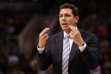 Luke Walton Jokes He Subbed Lonzo Early Because Of LaVar's Trash Talk