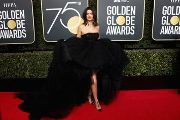 Kendall Jenner Claps Back At The Haters Following Golden Globes Backlash