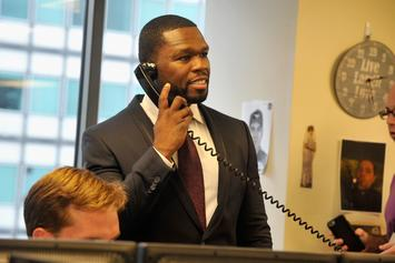 """50 Cent Stops By Wendy Williams' TV Show, Vows To """"Make Up"""" With Host"""
