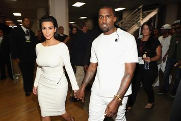 Kanye West & Kim Kardashian Welcome Their Third Child